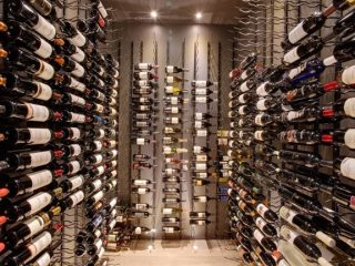 Custom Wine Cellars Florida using Vintage View