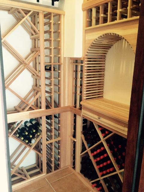 Custom Home Wine Cellars